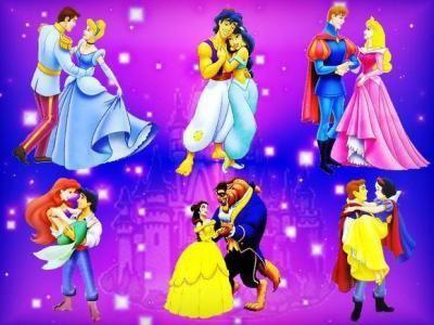 Walt Disney couple